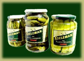 Koeleman gherkins ready for export